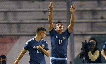 Argentina goleó y quedó a un paso de la Segunda Fase en el Sudamericano Sub 20