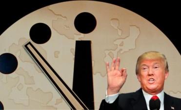 Por Trump, el Reloj del Apocalipsis se adelantó 30 segundos