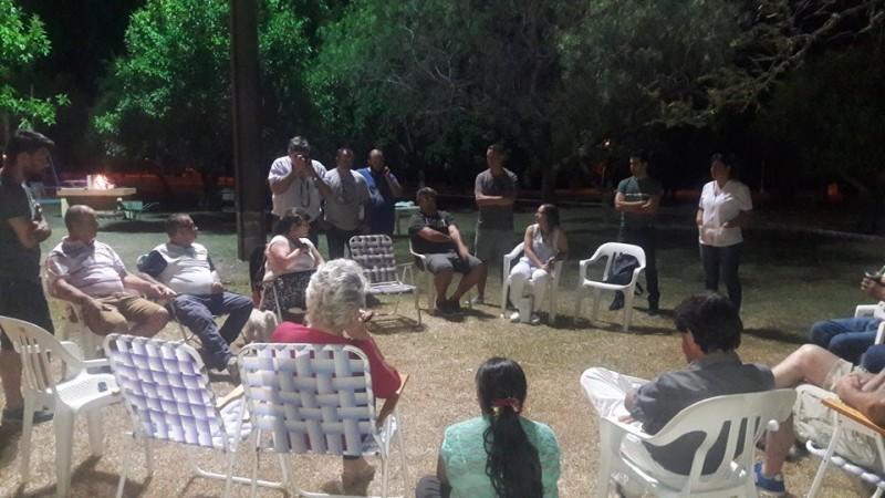 REUNIÓN DE COMISIÓN ORGANIZADORA DEL FESTIVAL EN EL CAMPING MUNICIPAL