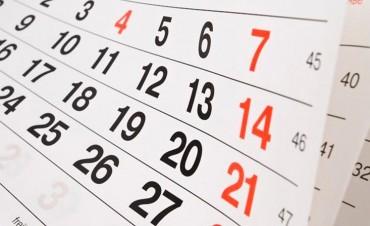 Para organizarse: Feriados puentes y días no laborales