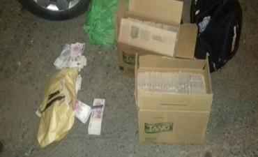 Secuestraron más de 3 millones de pesos de dudosa procedencia en el Dpto Federal