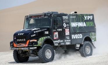 Rally Dakar 2018: el Coyote Villagra, ese argentino que pelea los primeros puestos