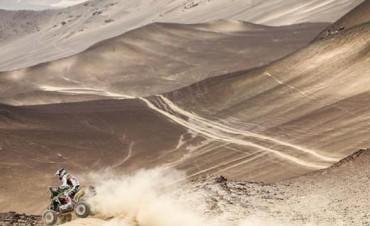 Dakar 2018: el chileno Ignacio Casale mantiene su liderazgo en Quads