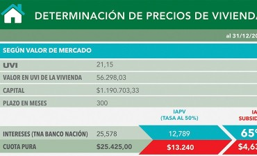 Viviendas del IAPV: La provincia subsidia hasta el 65 % de las cuotas