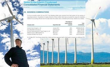 Con los parques eólicos, las empresas de los Macri ganaron al menos 48 millones de dólares