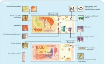 Difunden medidas de seguridad ante la circulación de nuevos billetes de $1.000