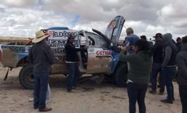 Dakar 2018: El entrerriano Naivirt sigue en carrera pese a los problemas