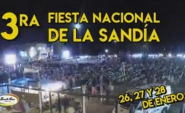 III Fiesta Nacional de la Sandía en Santa Ana.
