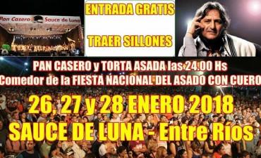 Del 26 al 28 de enero Sauce de Luna vivirá la 6ª Fiesta del Pan Casero.