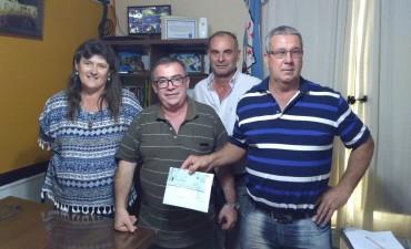 El Municipio gestiono un aporte para la Asociación de Fútbol de Veteranos