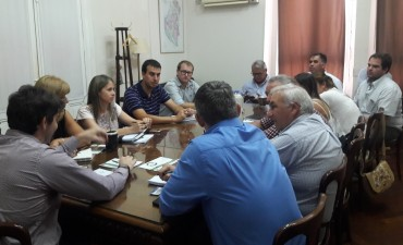 El Municipio participo de un encuentro con el Secretario de la Producción de la Provincia