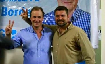 Chapino sobre obra cloacal en Federal ¨hoy es el comienzo¨.