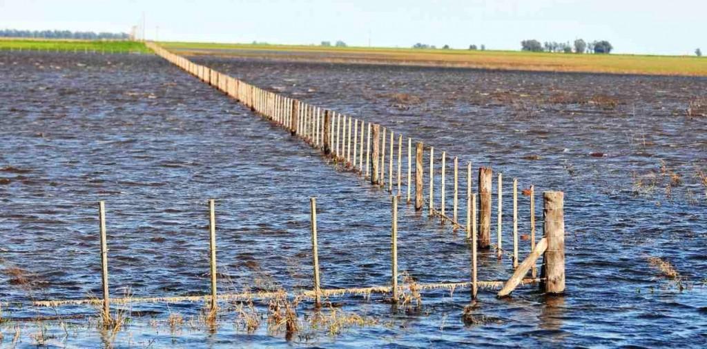 El norte entrerriano es la región más afectada por las precipitaciones