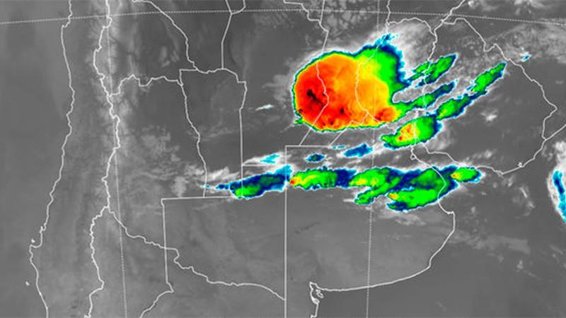 Alerta por tormentas fuertes abarca gran parte de Entre Ríos y otras provincias