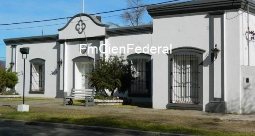 Receso administrativo en la Municipalidad de Federal