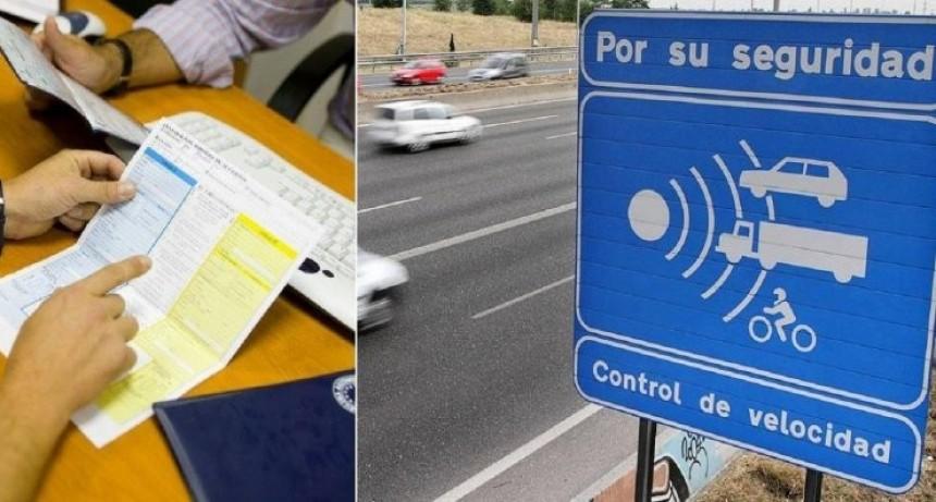 $5.970 es la multa por exceso de velocidad en rutas de Entre Ríos