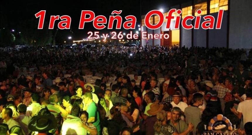 Se viene la 1° Peña Oficial de la Fiesta del Pan Casero.