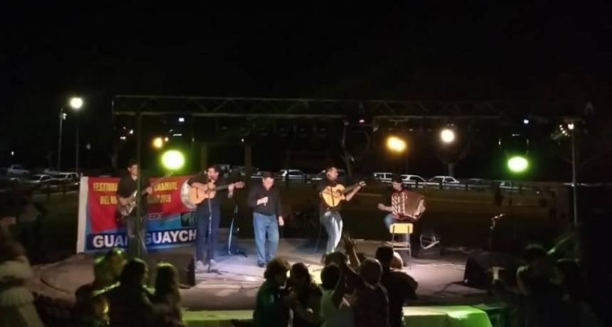 Se realizo la Sub - Sede en Gualeguaychu del Festival Nacional del Chamame