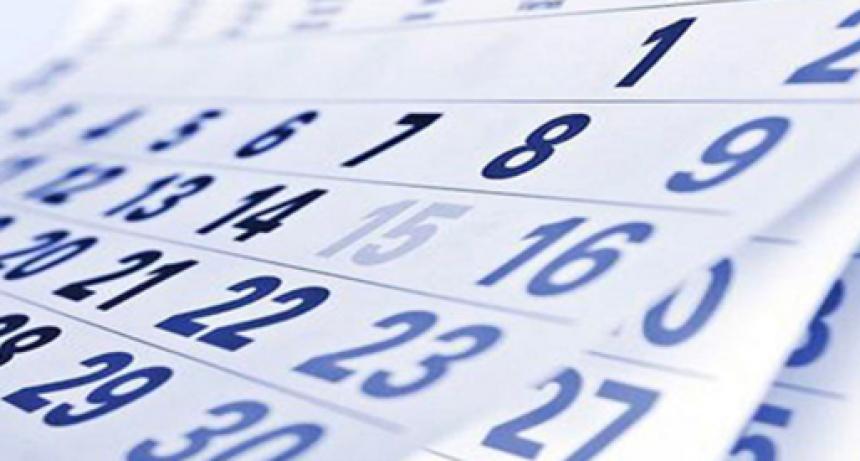 Feriados 2019: Conocé el calendario completo