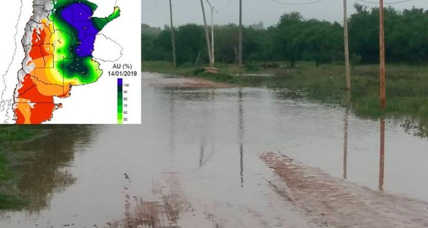Confirman que los suelos entrerrianos no tienen más capacidad de absorción