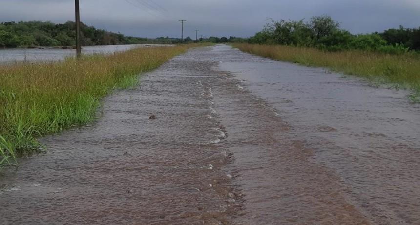 Cortado el transito en Ruta Provincial N 20 Tramo Villaguay - Federal