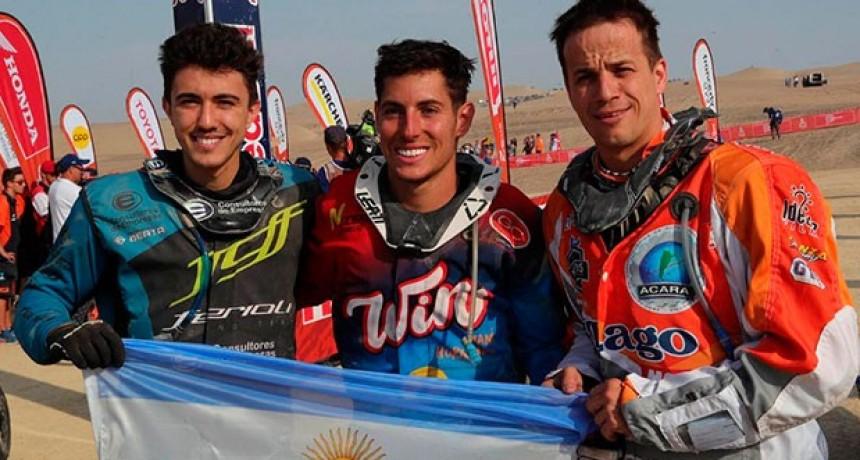 El cordobés Nicolás Cavigliasso se consagró campeón del Rally Dakar en cuatris