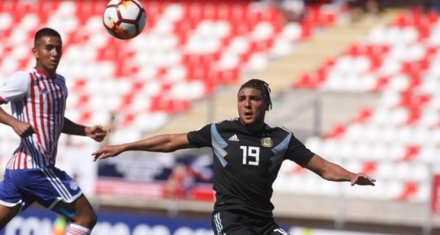 Argentina empató ante Paraguay en su debut en el Sudamericano Sub 20