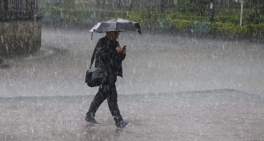 Pronostican lluvias de hasta 80 milímetros en Entre Ríos