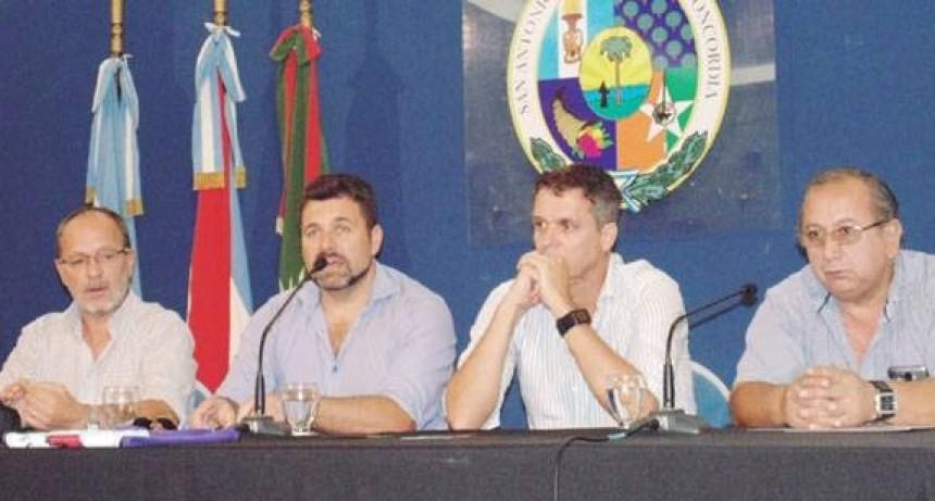 """""""Estamos preparados para un gran Festival Nacional del Chamamé"""", dijo el intendente de Federal, Gerardo Chapino"""