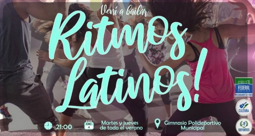 CLASES GRATUITAS DE RITMOS LATINOS