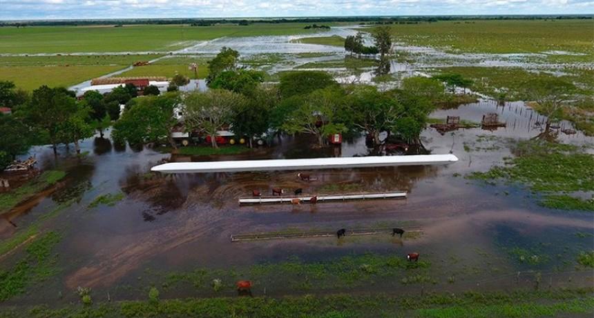 Acordaron beneficios impositivos para productores de zonas inundadas