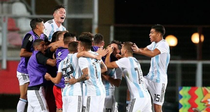 Sudamericano Sub 20: Argentina superó a Uruguay y quedó cerca de la clasificación
