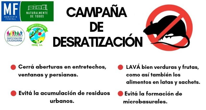 Campaña de distribución de cebos raticidas