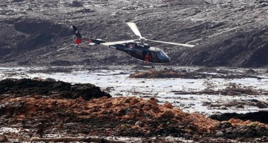 Tragedia de la represa: localizaron a 100 personas sepultadas por la avalancha