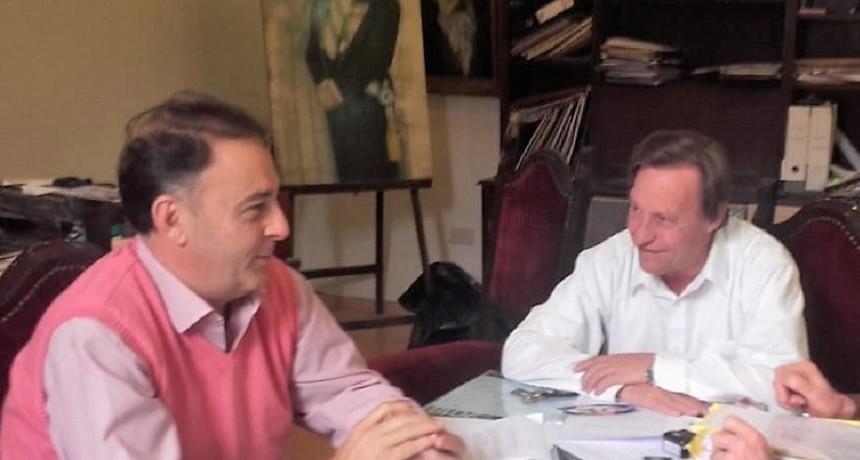 Jorge Lacoste visitó a Sergio Varisco y juntos  evaluaron el futuro político en Entre Ríos