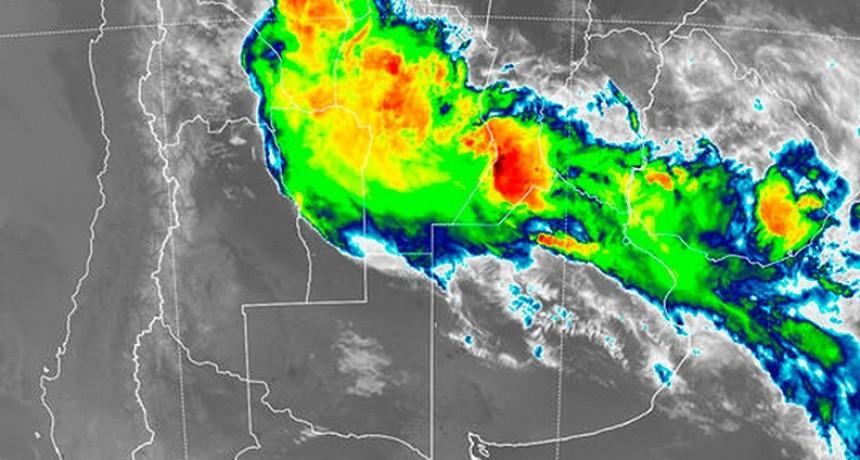 Entre Ríos y otras ocho provincias en alerta por tormentas fuertes