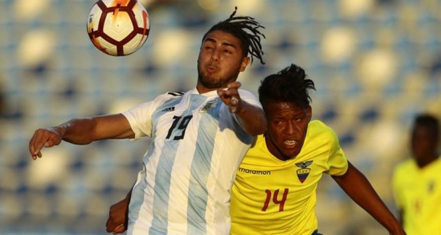 Argentina debutó con una derrota en el Hexagonal del Sudamericano Sub 20