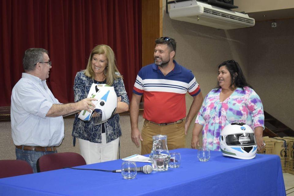 La Ministra  de Gobierno Rosario Federal  visito Federal