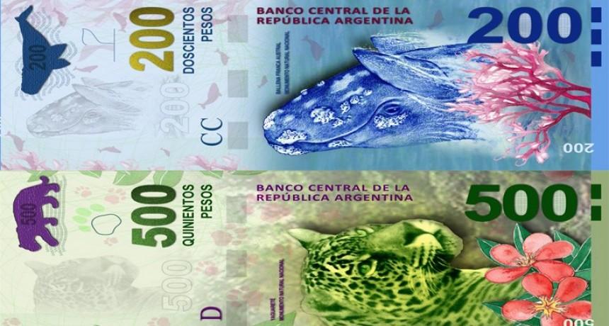 Explican cómo será el reemplazo de los billetes con animales