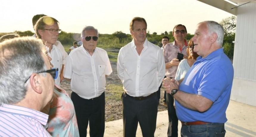 Bordet reiteró el apoyo de la provincia a la producción