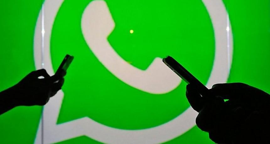Whastapp registró problemas para enviar fotos, videos y notas de voz