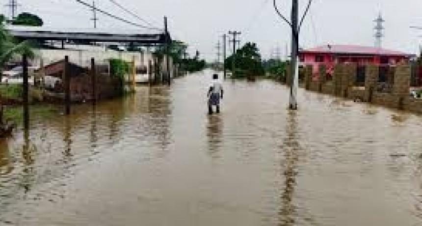 Villaguay, Federal y Sauce Montrul; las zonas más afectadas por el temporal