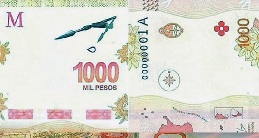 Se conocen las posibles caras nuevas del billete de 1.000 pesos