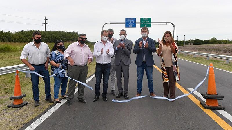 Bordet destacó el compromiso de Nación para la repavimentación de Ruta 127