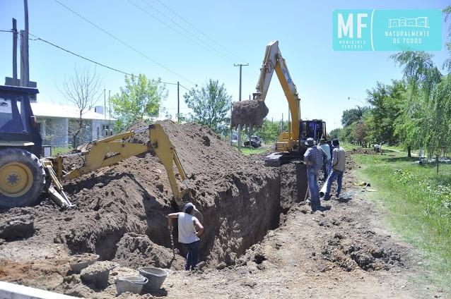 Avance de obras en las 44 viviendas de Barrio 25 de Mayo