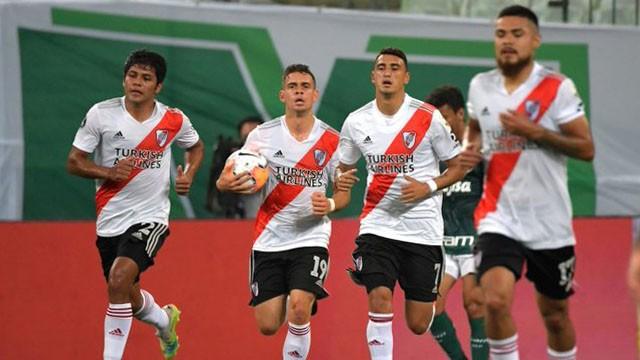 River le ganó 2 a 0 a Palmeiras, pero igual quedó eliminado de la Libertadores