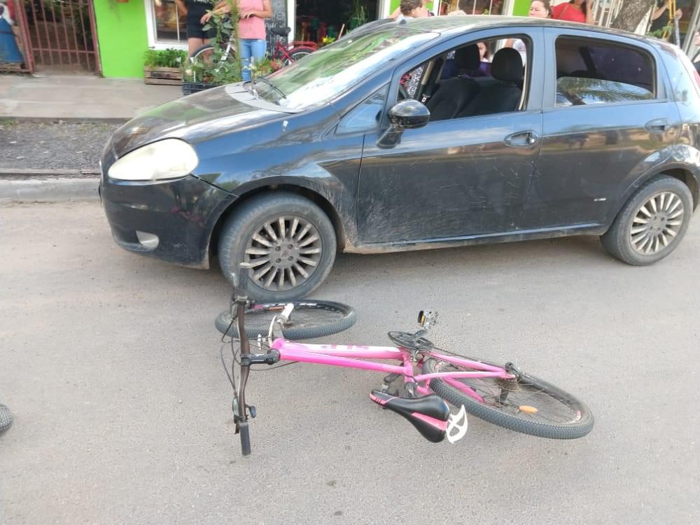 Accidente de tránsito con lesionado: