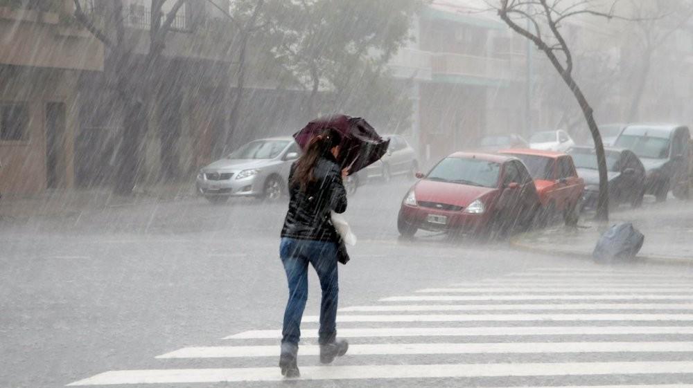 Registro de lluvias en el Departamento Federal