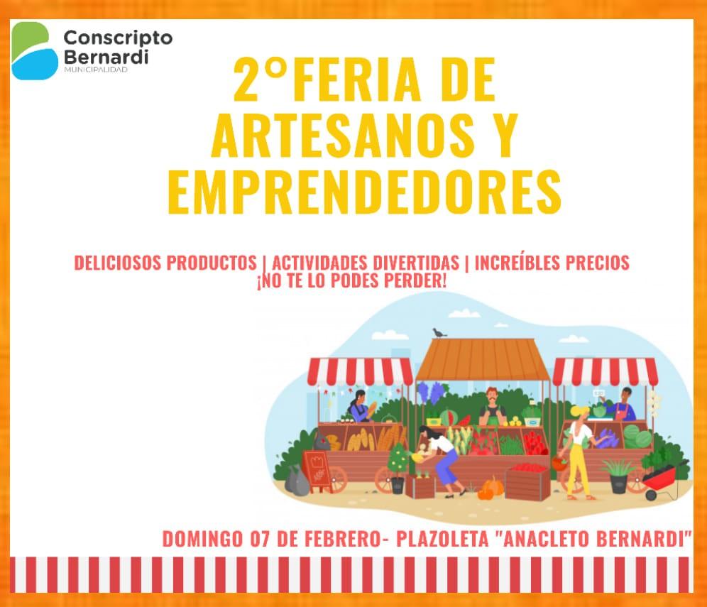 2° Feria de Emprendedores en Conscripto Bernardi