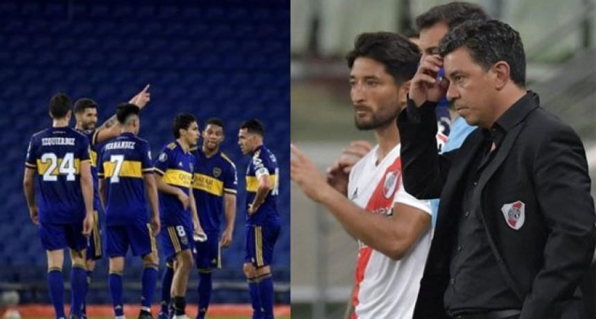 La racha que se rompe con las eliminaciones de Boca y River de la Libertadores